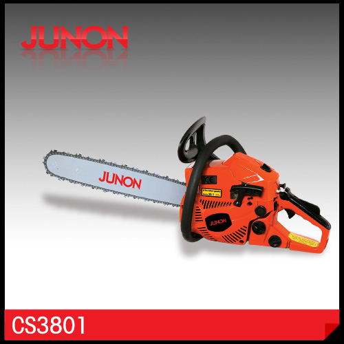 "38cc gasoline chainsaw brand names with 14"" 16"" 18"" Guide Bar (CS3801)"