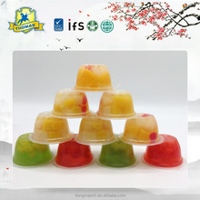 Snacks Mini Fruit Jelly English Clear Jello Assorted Fruit Jellies With Fruit