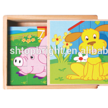 personalized 1000 pieces wooden 3d jigsaw puzzles for adults