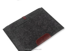 New fashionable slim men's travel business felt best laptop cases for Ipad
