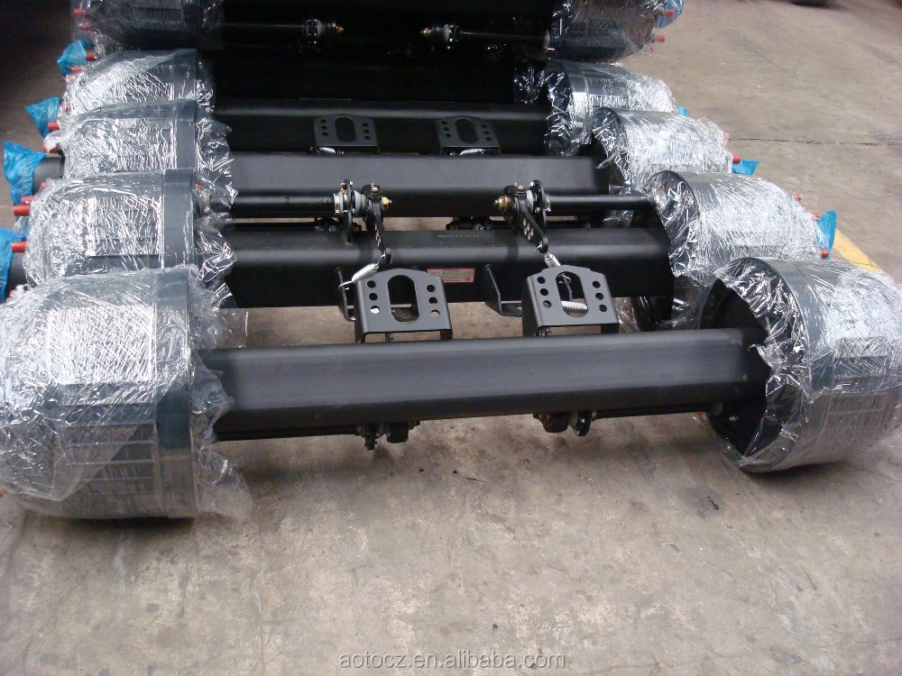 12T BPW axle for trucks and semi trailers