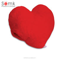 Novelty chair cushion plush heart shaped cushion pillow fashion cushion cover