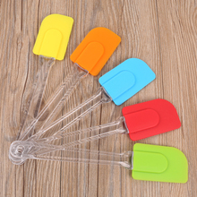 Hot Sale BPA Free Flexible Silicone Baker Spatula with PS Handle