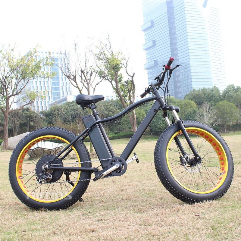 Riding on the beach fat tire mountain bike / beach cruiser bicycle / big wheels 4.8 tire bicycle fat bike