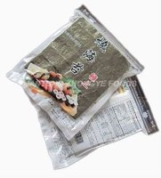 4.9oz 50pcs/bag roasted dried seaweed