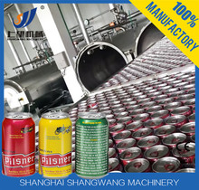 Pop Can Carbonated Beverage 3-in-1 Filling Machine, Pop Can Carbonated Beverage Production Line