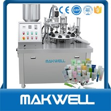 glue tube filling and sealing machine