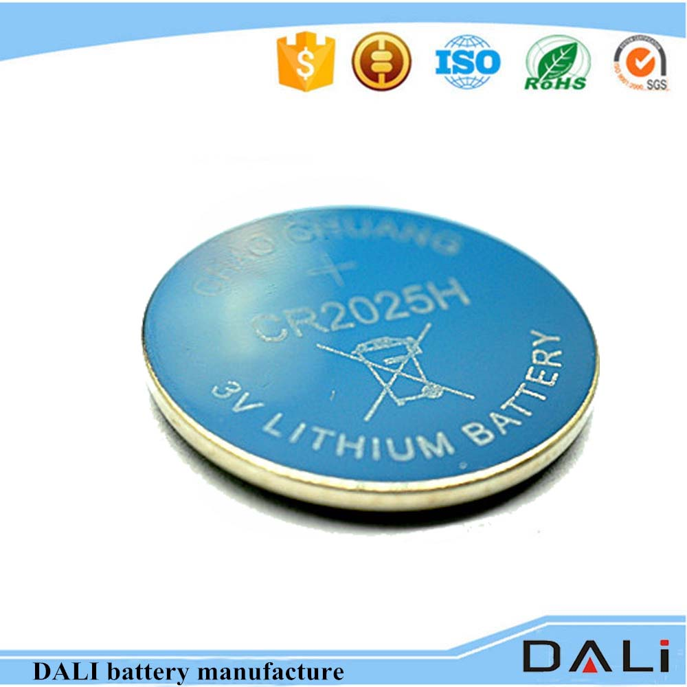 3v Lithium Button Cell Cr2016 Cr2025 Cr2032 Non Rechargeable Battery