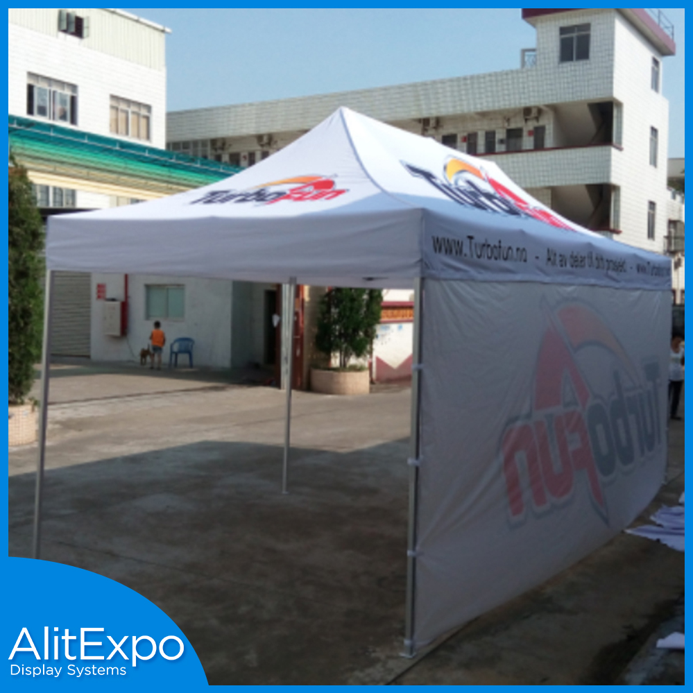 Quality Pop up display tent with logo printing