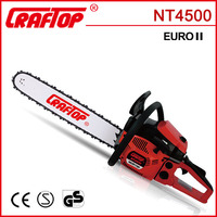 1.7kw CE EUROII approved komatsu model chain saw 45cc