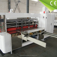 corrugated paperboard die cutting carton electric box making machine used corrugated machinery