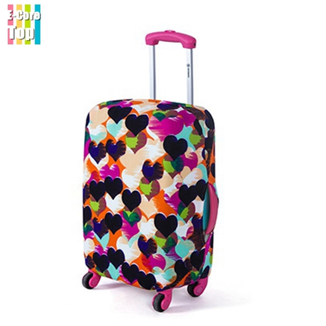 Wholesale Luggage Protective Cover Perfectly Stretch Thick Elastic Size S/M/L Apply to 18~30'' Trunk Cases 6Print Pattern Design
