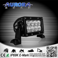 High quality 4'' 24W dual row light bar 4x4 off road buggy