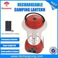 Rechargeable Solar Camping Lanterns with Radio with USB