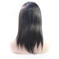 Fast Shipment Virgin Brazilian Human Hair Straight Full Lace Wigs With Natural Hairline