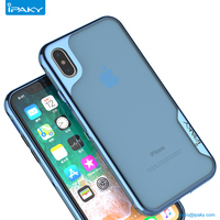 2017 Wholesale New Mobile Accessories Tpu Clear Cell Back Cover Electronic Plating Phone Case For IphoneX