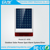 wireless gsm security flexible solar panels prices with 433/315mhz
