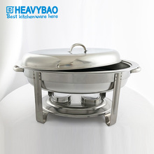 Oval chafing dish stainless steel economy chafers