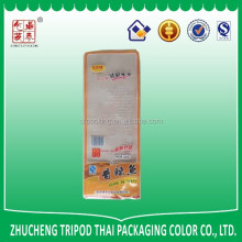 High temperature thickness PA+CPP material plastic bag for fish