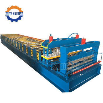 Glazed Color Roof Tile Roll Forming Machine