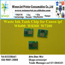 Printer waste Ink Tank Chip for Canon ipf W8200