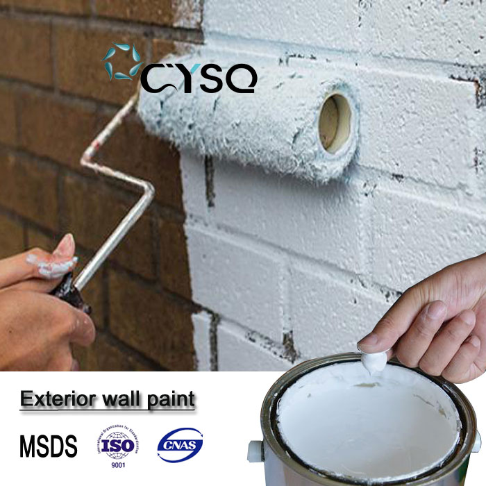 non toxic water-based elastic building exterior wall paint