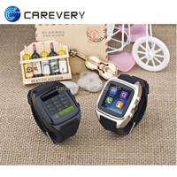 Cheap 3G sim card dual core android smart watch mobile phone unlocked watch mobile phone
