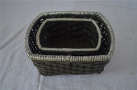 Wholesale ecofriendly steamed wicker willow bread proofing basket handmade