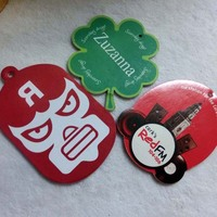 customized gifts hanging paper car air freshener