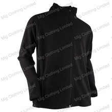 Rechargeable battery heated fleece jacket