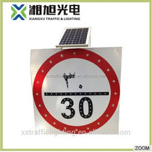 Alibaba China supplier solar powered traffic control radar speed sign