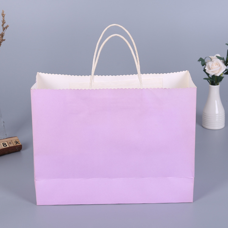 Thin nice grocery paper shopping bag
