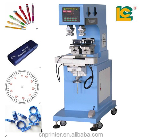 Dongguan 2-color watch dial/ball /mug pad printing machine price for sale