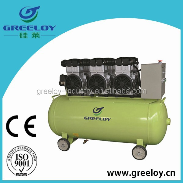 AC power oil free air compressor for car tires pictures