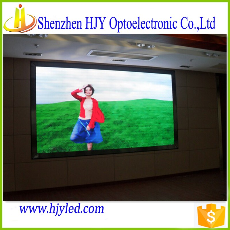 hign grade led billboard P7.62 smd indoor full color led tv display for pharmacy cross