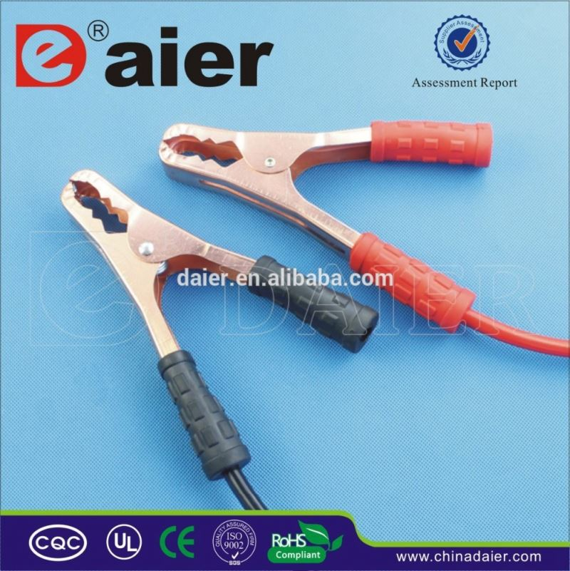 Daier insulated crocodile clips