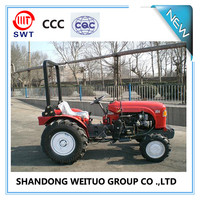 Chinese 50hp multi-purpose farm mini tractor orchard tractors for sale