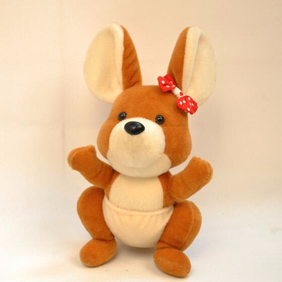 vending machine kangaroo stuffed animal plush toy