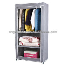 Folding Movable Cloth Wardrobe For Small Spaces