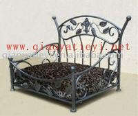 Metal pet bed dog bed
