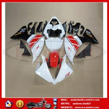 KCM417 Motorcycle Fairing Injection Molded ABS Plastic Fairing For Motoycycle 21PSC/Set With Windscreen For YZF-R1 2013-2014