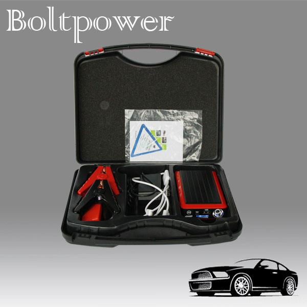 China Supplier 8000mah 400 Peak Amps Mini Multi-function Battery Jump Start and Car Battery Charger