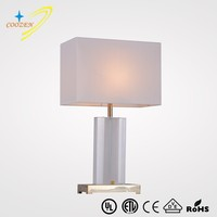 GZ60007-1T European Crystal Table Lighting Fancy reading lamps Power Outlet Hotel Table Lamps iron table Residential Lamp