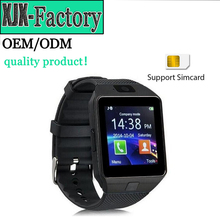 Top 3 factory!hot sale & high quality dz09 smartwatch manual with Camera for Iphone and Android Smartphones