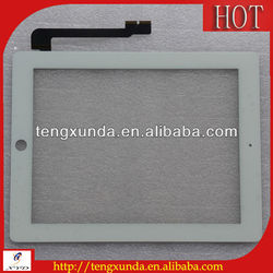 Hot selling good hight quality for ipad 2 or 3 and 4 touch screen with black and white