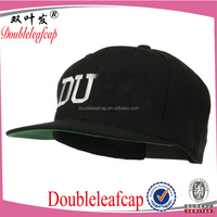 NEW Fashion trend Men's Snapback adjustable Baseball Cap Hip Hop hat black