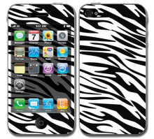 Sticker skin for iphone 4,zebra skin for iphone 4
