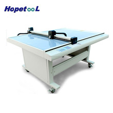 Fast speed accurate flatbed vinyl cutting plotter sample cutter