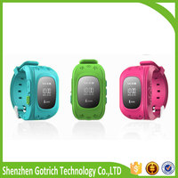 Shenzhen electronic mini waterproof personal gps tracker q50 bluetooth smartphone watch with high quality