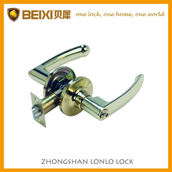 2016 High Quality Popular polished brass zinc alloy lock europa